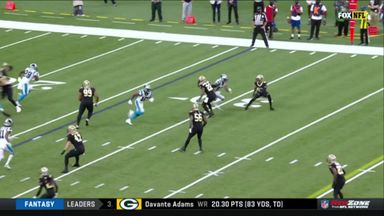 Moore's 74-yard touchdown for Panthers