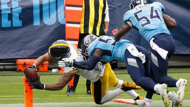 Steelers 27-24 Titans