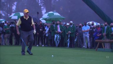 Nicklaus and Player start The Masters
