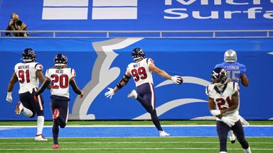 Watt's spectacular pick six