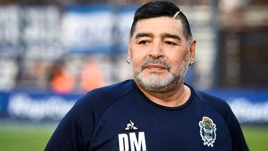 Maradona neurosurgeon: Diego's very well
