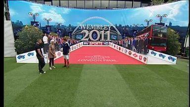Smart opens Wembley game