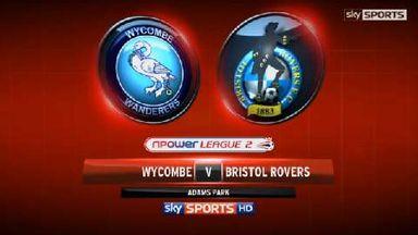 Wycombe 2-0 Bristol Rovers