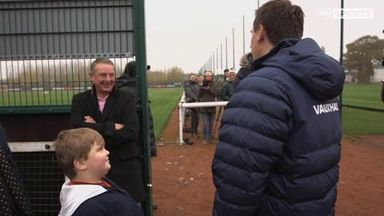My Special Day - Lewis meets Sir Trevor Brooking