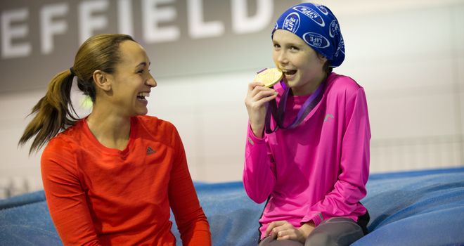Sports-mad youngster Alicia Armstrong gets a surprise from her idol Jessica Ennis-Hill in this week's My Special Day.