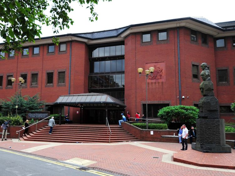 A general view of Birmingham Crown Court after the sentencing of Magdelena Luczak and Mariusz Krezolek, who have both been jailed for at least 30 years for