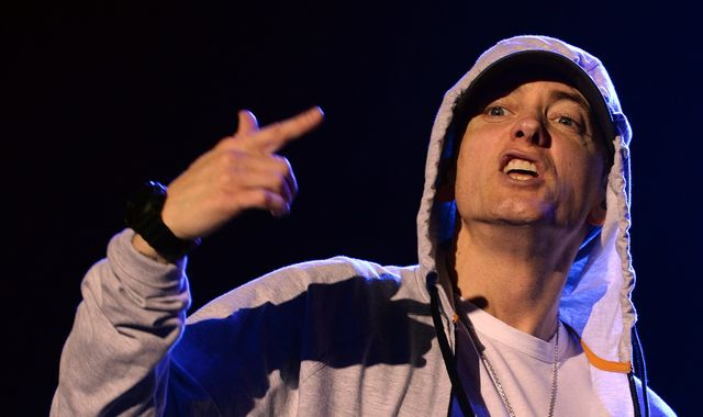 Eminem drops surprise album - and upsets some with Manchester bombing lyric