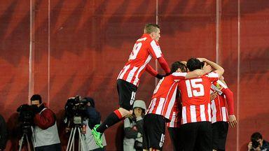 Advantage Bilbao in top four battle