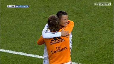 Two Ronaldo screamers secure Real win