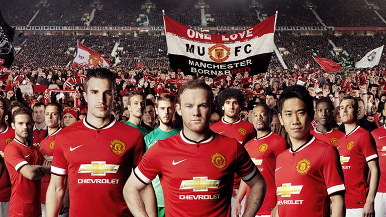 Manchester United have unveiled their kit for the new season
