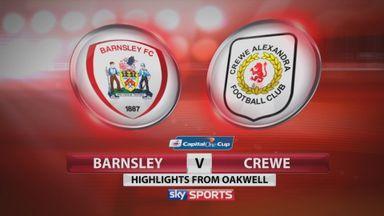 Barnsley 0-2 Crewe