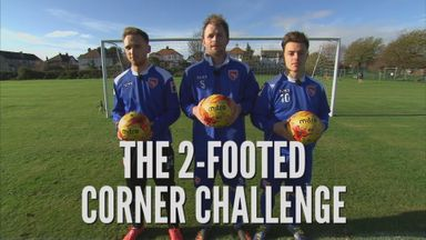 Two Footed Corner Challenge - Morecambe
