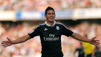 Rodríguez's stunning goal against Granada
