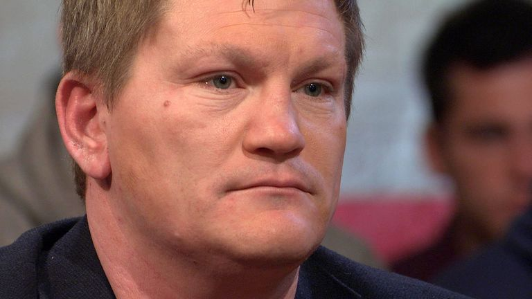 Ricky Hatton told Ringside his pride struggled to recover from the defeats against Floyd Mayweather Jr and Manny Pacquiao
