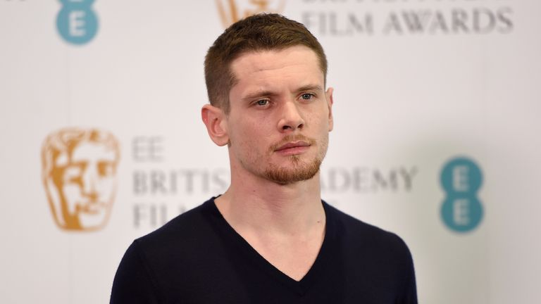 Jack O'Connell attends the EE Rising Star award nominations.