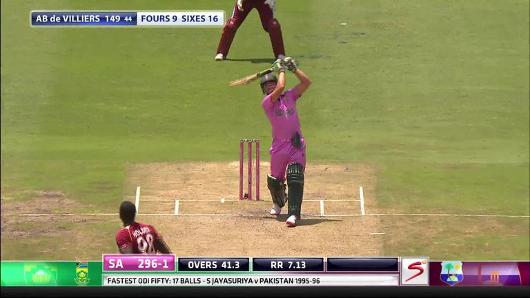 De Villiers Hits 31 Ball Hundred