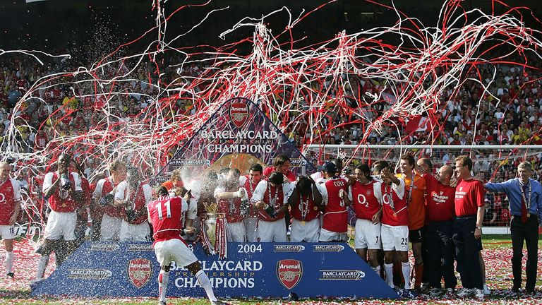 The inside story of Arsenal's historic unbeaten 2003-04 Premier League title winning campaign as told by the players and manager Arsene Wenger
