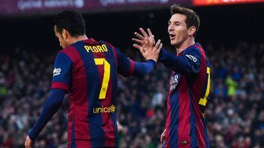 Barcelona 5-0 Levante