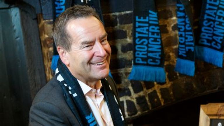 Jeff Stelling promotes Prostate Cancer UK's Men United campaign