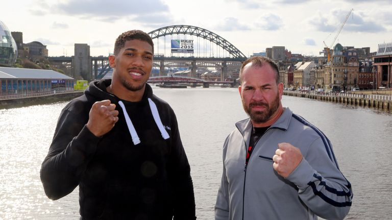 Anthony Joshua wants to beat Jason Gaven and 'look good' doing it when the heavyweights clash in Newcastle.