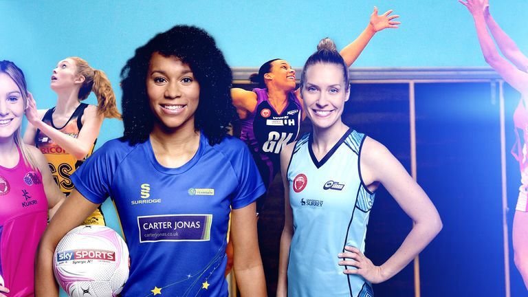 Vote for your Netball Superleague Player of the Season