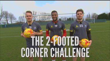 2-Footed Corner Challenge - Bury