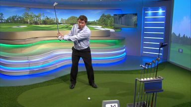 Stroke Saver - Checking your swing