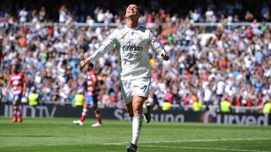 Ronaldo scores five goals against Granada