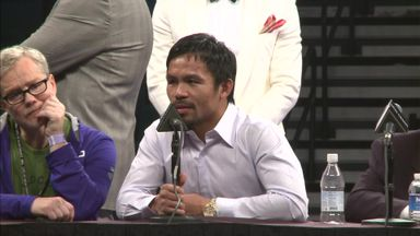 Pacquiao: I had an injury