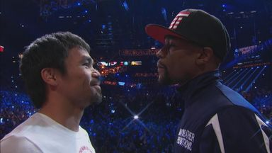 Mayweather v Pacquiao - The Weigh-In