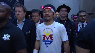 Manny Pacquiao Ring walk
