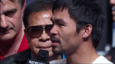 Manny thanks Money in H2H