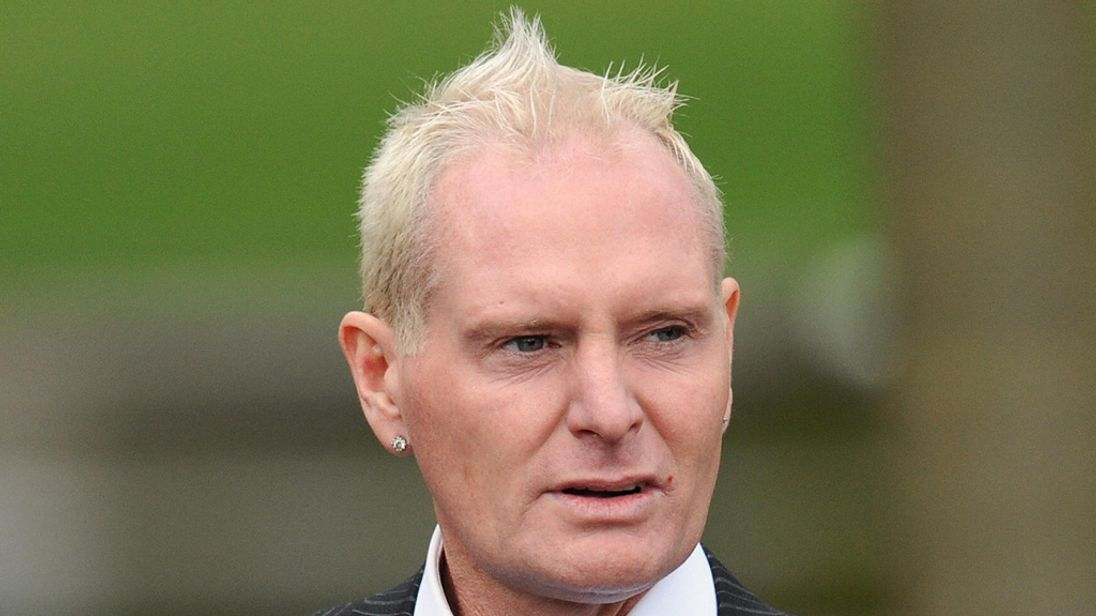 Paul Gascoigne charged with sex assault on train