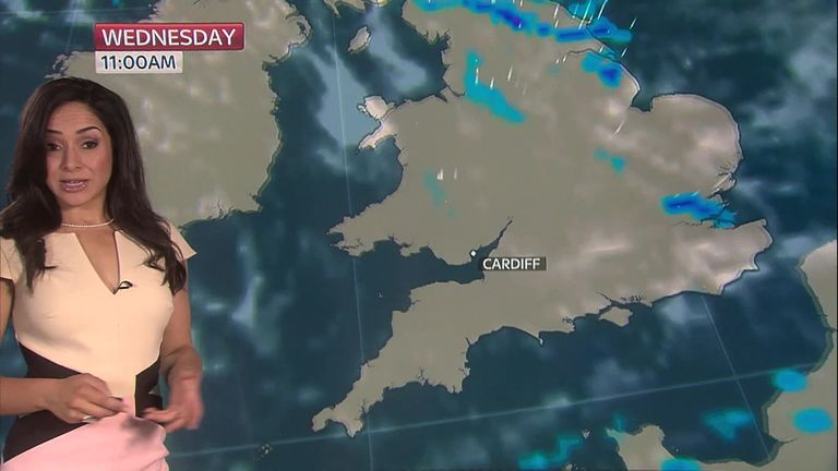 Ashes Weather - Cardiff