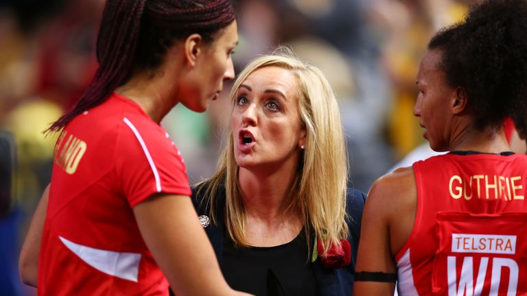 England international netballer Stacey Francis works with Sports UK, an organisation trying to get more women into elite level coaching