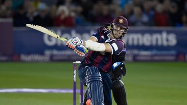Willey hits 34 in one over!