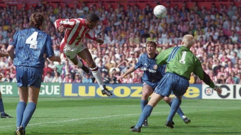 Brian Deane, Sheffield United goal, Premier League opening day