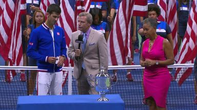 Djokovic wins 2015 U.S Open