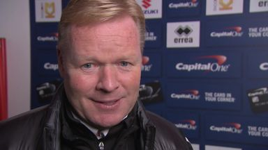 Koeman taking cup seriously