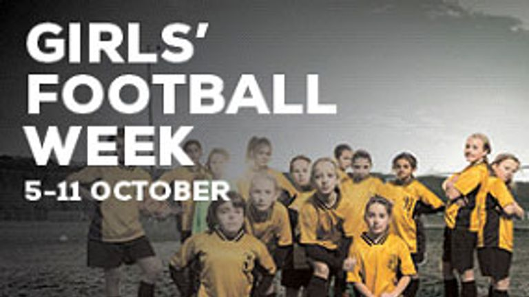 The FA has introduced Girls' Football Week to encourage more education institutions to run female-specific football sessions