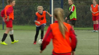 Bournemouth encouraging Girls' Football