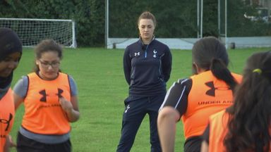 Tottenham inspiring girls to coach