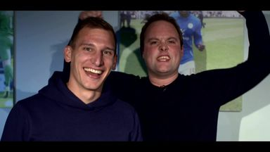 Tubes meets Marc Albrighton