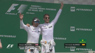 McLaren back on the podium