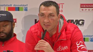 Klitschko - I want a rematch