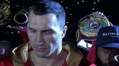 Wladimir Klitschko's ring walk