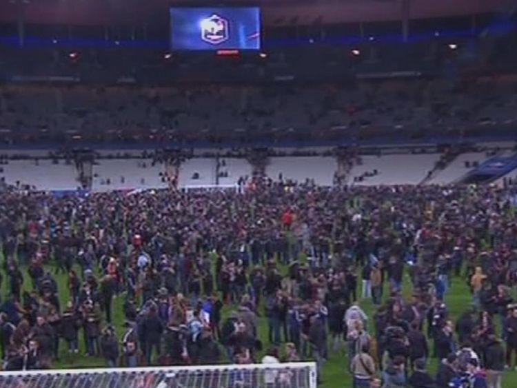 'Overt anti-terror measures' at football stadiums