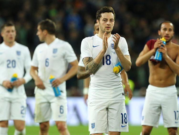 Ryan Mason made his England debut earlier this year