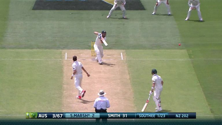 Australia v New Zealand 3rd Test: Story of Day Two