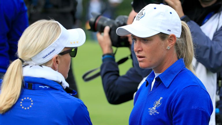 Team Europe's 2015 Solheim Cup captain Carin Koch reflects on the controversy from this year's tournament